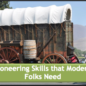 Pioneer Skills that Modern Folks Need