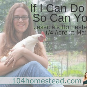 If I Can Do It, So Can You {Homesteading on 1/4 Acre}