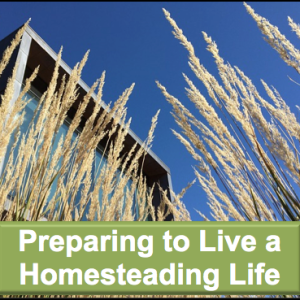 Preparing to Live the Homesteading Life