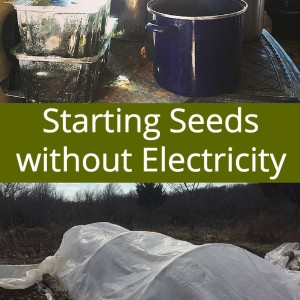 Starting Seeds without Electricity