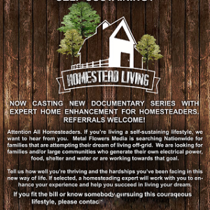 How I was (Almost) Cast on A Homesteading TV Show