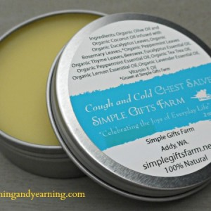 Cough and Cold Chest Salve Recipe