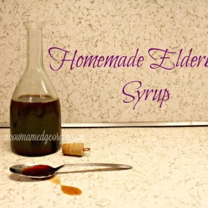 My Elderberry Syrup Recipe