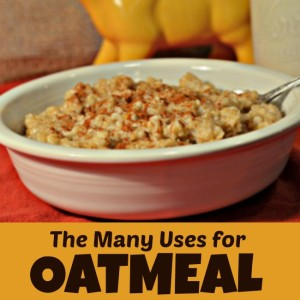 The Many Uses Of Oatmeal