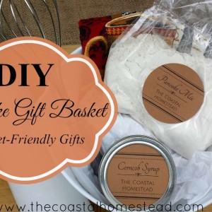 DIY Pancake Gift Basket; Budget-Friendly Gifts