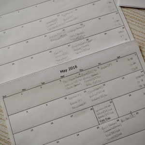 Making a Seed Starting Calendar
