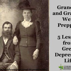 5 Lessons from Great Depression Life
