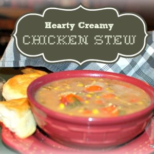 Hearty Creamy Chicken Stew