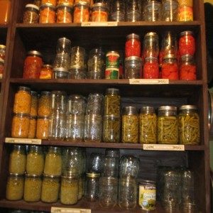 Using Your Stores (Pantry)