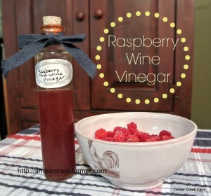 Raspberry Wine Vinegar