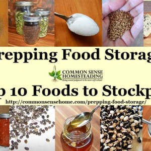 Top 10 Foods to Stockpile