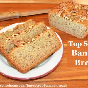 Top Secret Banana Bread