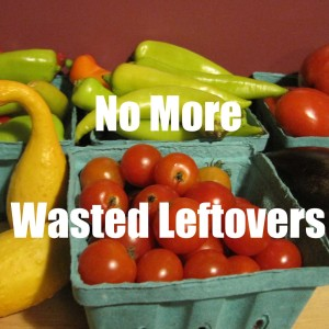 No More Wasted Leftovers