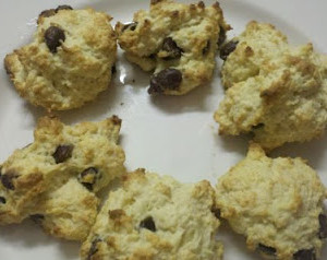 Chocolate Chip Drop Biscuit