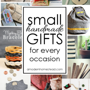 Small Homemade Gifts for Any Occasion