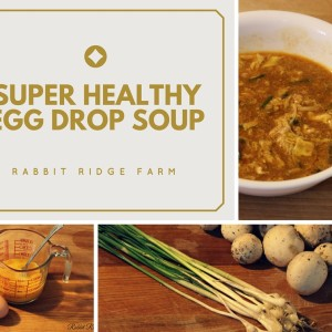 Super Healthy Egg Drop Soup