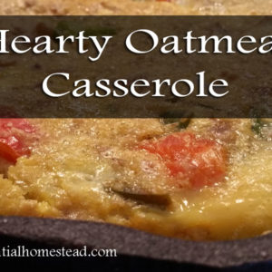 Hearty Oatmeal Casserole