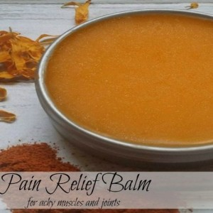 Warming Cayenne and Arnica Muscle Pain Relief Salve