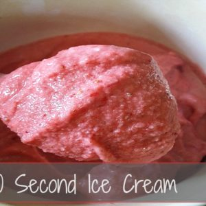 How to Make Ice Cream in 30 Seconds