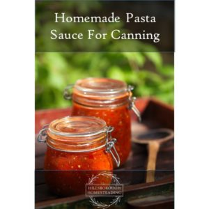 Easy Homemade Red Sauce For Canning