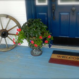 Decorating A Victorian Farm House For the Fourth Of July ~ Bringing 'America' Home