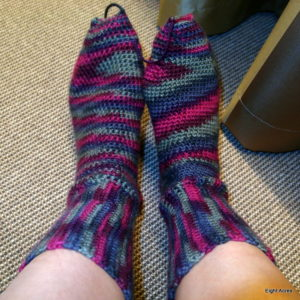 How to crochet socks