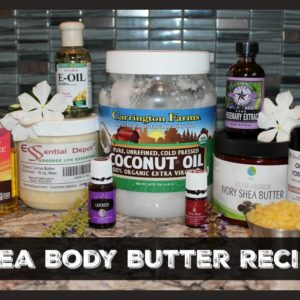 Body Butter Recipe with Shea Butter