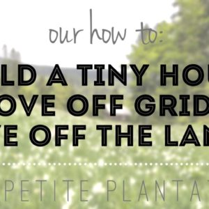 How to move off the grid & live off the land