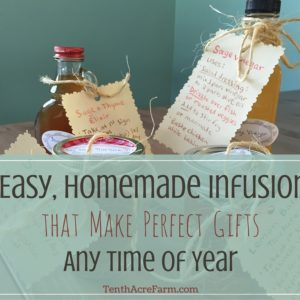 5 Easy, Homemade Infusions that Make Perfect Gifts Any Time of Year