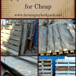 How To Make An Upcycled Pallet Planter for Cheap
