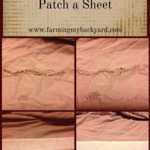 How To Patch a Sheet