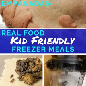 Sausage, Cheese, and Potato Empanads-Real Food, Kid Friendly, Freezer Meals