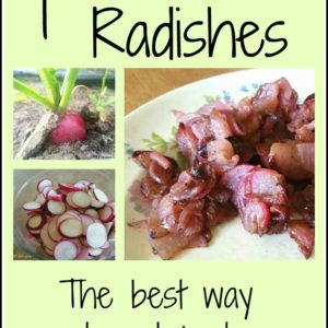 The Best Way to Eat Radishes: Fried!