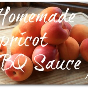 Homemade Apricot BBQ Sauce