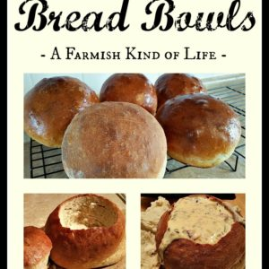 Bread Bowls from Scratch