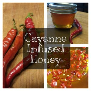 Cayenne Infused Honey