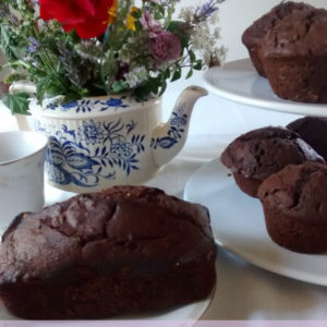 Sourdough Chocolate Zucchini Muffin Recipe- No Refined Sugar
