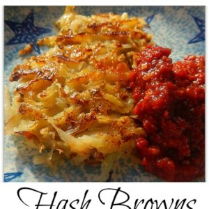 Immune Boosting Hash Browns