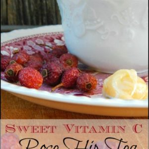 Rosehip Tea: Sweet Vitamin C