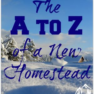 The A to Z of a New Homestead