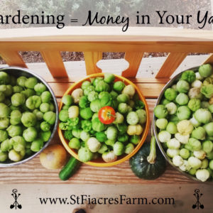 Gardening = Money in Your Yard