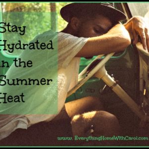 Stay Hydrated Naturally in the Summer Heat