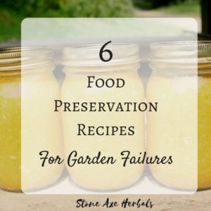 6 Food Preservation Recipes For Garden Failure