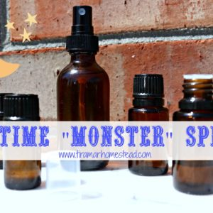 "Homemade Bedtime ""Monster"" Spray"