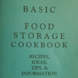 9 PRINTABLE Food Storage Cookbooks