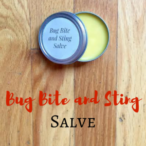 Bug Bite and Sting Salve
