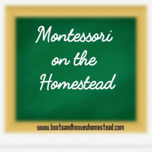 Homesteading and Montessori