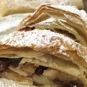 Authentic German Apple Strudel