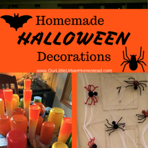 Last-Minute Homemade Halloween Decorations