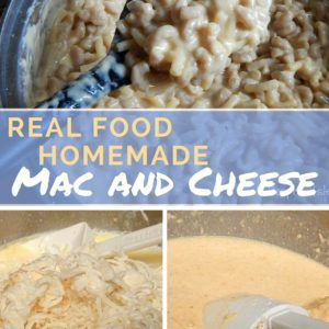 Real Food Mac and Cheese